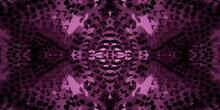 Seamless Animal Skins. Violet Wallpaper