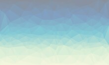 Vibrant Creative Prismatic Blue Background With Polygonal Pattern