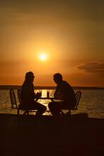 Enjoying A Sundowner At Punta Gorda, Cienfuegos, Cuba