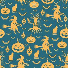 Halloween Pattern Seamless