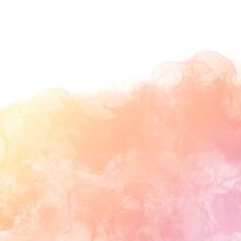 アルコールインクアート背景イラスト)ピンクのグラデーション 正方形 光 春 繊細 リラックス ナチュラル