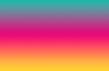Gradient Multi-colored Horizontal Stripes For Abstract Backdrop