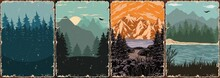 Nature Landscapes Colorful Posters