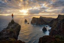 Peninsula Sao Lourenco Peninsula On Madeira, Portugal