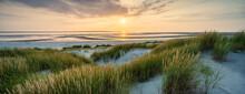 Beautiful Sunset At The Dune Beach