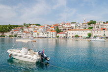 Picturesque Bay In Povlja Village. Povlja Is Situated In A Deep Natural Harbor Onthe North-east Coast Of Brac Island In Croatia