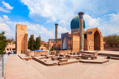Obraz na plátně Guri Amir or Gur Emir mausoleum, Samarkand