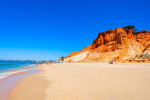 Falesia Beach In Albufeira, Algarve