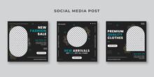 New Arrival Sale Social Media Post Template