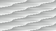 Seamless Pattern With Horizontal Speed Lines. Vector Illustration.