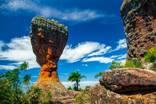 Image Of The Vila Velha State Park Cup, Which Is A Geological Site Located In The Brazilian Municipality Of Ponta Grossa, Which Has A Set Of Rock Formations Designed By Time And Wind