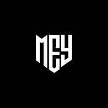 MEY Letter Logo Design On White Background. MEY Creative Initials Letter Logo Concept. MEY Letter Design.