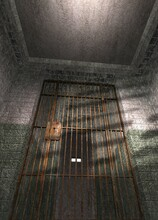 Prison Cell, Conceptual Illustration
