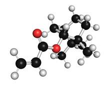 Isobornyl Acrylate Molecule, Illustration