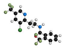 Fluopyram Fungicide Molecule, Illustration