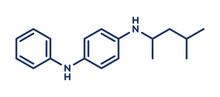 6PPD Rubber Additive Molecule, Illustration
