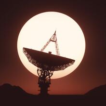 Satellite Dish, Illustration