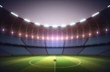 Football Stadium, Illustration