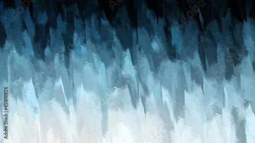Fotografia Abstract Digital watercolor fine art brush strokes color texture
