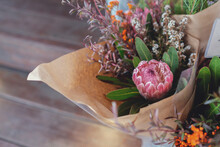 Rustic Native Flower Bouquet
