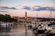 Leinwandbild Motiv Küstenlandschaft Insel Krk, Kroatien