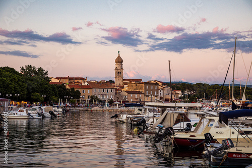 Küstenlandschaft Insel Krk, Kroatien