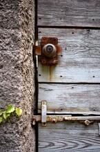 Old Door Lock