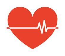 Red Cardio Heart
