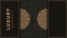 Luxury Ornamental Mandala Background With Arabesque