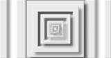 Image of white square layers pulsating on white background
