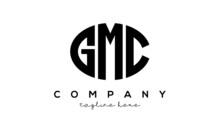 GMC Three Letters Creative Circle Logo Design