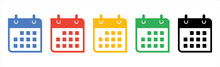 Calendar Or Appointment Schedule Flat Icon Icon For Apps And Websites.