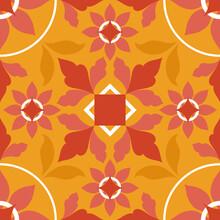 Orange Tile Illustration