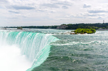 Niagara Falls In Summer, Ontario, Canada