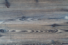 Vintage Gray Wooden Of Horizontal Element Wooden Design Plank Of Pine Tree.The Wooden Wall Is A Piece Of Wood, Woodblock Pattern Wall Texture Background Minimal Decoration.