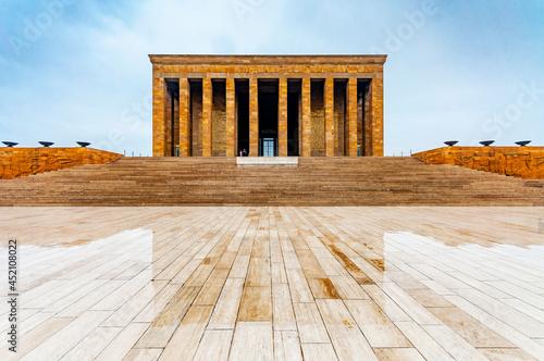 Fotografie, Obraz Anitkabir is mausoleum of great leader Ataturk