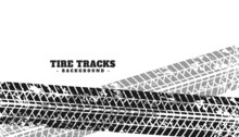 Grunge Tire Marks Print Texture Background