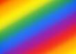 Abstrakcyjna tęczowa kompozycja do projektowania grafiki, tekstu i wiadomości. Kolory flagi LGBTQ. Koncept równości, wolności, równych praw, gender.