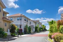 日本の住宅地  Japan's Residential Area.