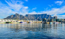 Cape Town And Table Mountain In South Africa
