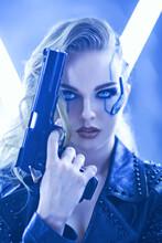 Sci-fi Cyborg Soldier