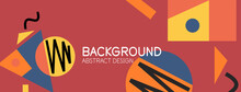 Abstract Background With Blocks, Lines, Geometric Shapes. Techno Or Business Concept For Wallpaper, Banner, Background, Landing Page