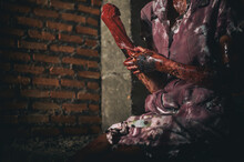 Ghost Horror Hand Scary, Fantasy Apocalypse Zombie Bloody Hands  Background, Monster Blood, Zombi Theme