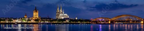 Skyline of Cologne - Germany
