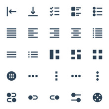 Glyph Icons For Ui Ux.