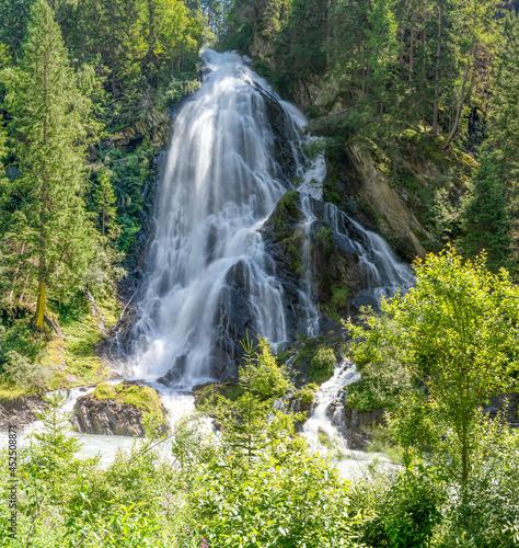 Staniskabach Wasserfall (Schleierfall, Haslacherfall)