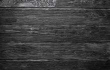 Mur En Planches De Bois Texture Style Lambris Noir Et Blanc