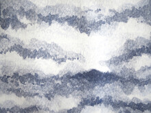 Art Abstract Black White Sky Watercolor Painting Paper Texture Mind Mental Spiritual Illustration Design Background