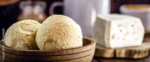 Fotografie, Obraz Cheese bread, typical Brazilian snack from Minas Gerais