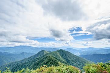 登山 谷川岳 稜線(群馬県)